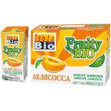 Fruity Bio nettare di Albicocca Isola Bio 3 x 200ml