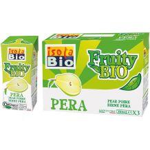 Fruity Bio nettare di Pera Isola Bio 3x200ml