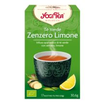 The verde zenzero limone - Yogi Tea