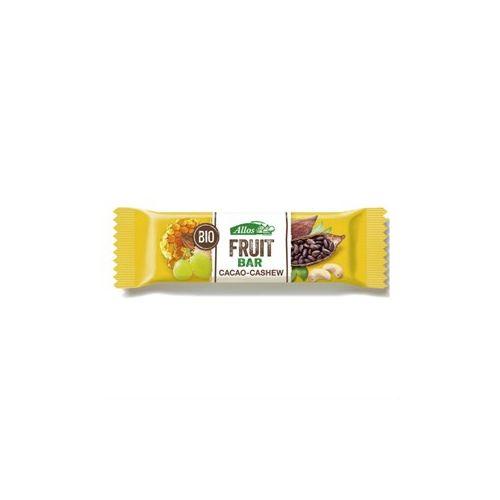 Barretta di Frutta al Cacao e Anacardi