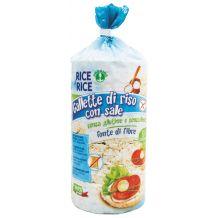 Gallette di riso con sale Rice &Rice 100g