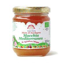 Miele di Macchia Mediterranea Terrantiga 250gr