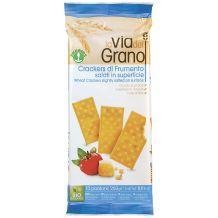Crackers di frumento salati in superficie Probios