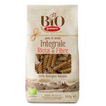 Fusilli integrali di grano duro Biogranoro